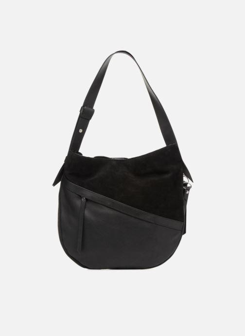 Handtaschen Liebeskind Berlin Helmet Hobo M schwarz ansicht von vorne