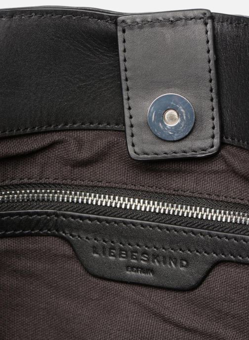 Handtaschen Liebeskind Berlin Helmet Hobo M schwarz ansicht von hinten