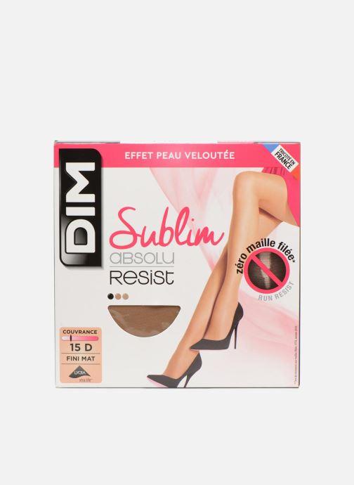 Chaussettes et collants Dim SUBLIM ABSOLU RESIST Beige vue détail/paire