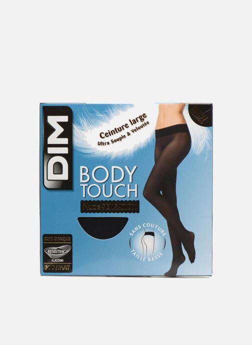 Strømper og tights Dim Collant BODY TOUCH NUDE SENSATION 30D Sort detaljeret billede af skoene