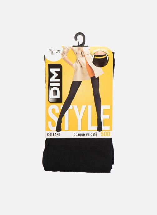 Sokken en panty's Dim Collant OPAQUE VELOUTE Zwart detail