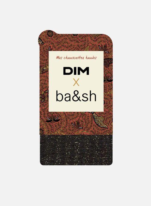 Chaussettes et collants Dim Chaussettes Hautes DIM X BA&SH COTTES DE MAILLE Noir vue détail/paire
