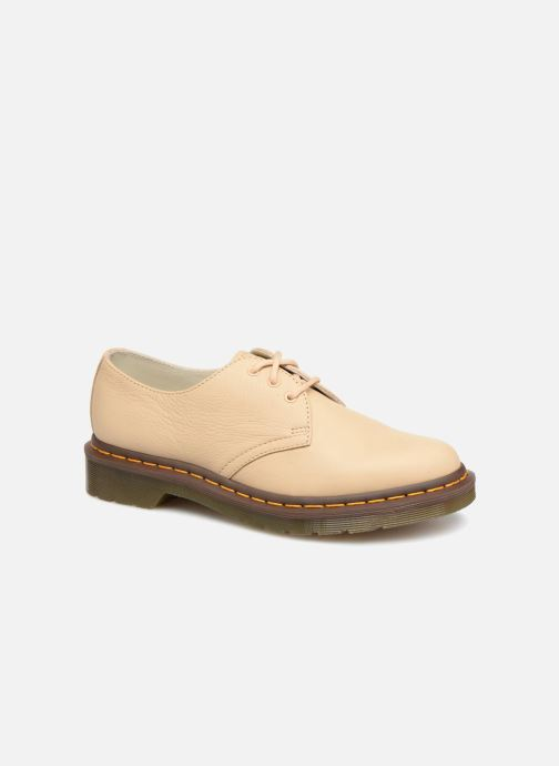 Lace-up shoes DR. Martens 1461 F Beige detailed view/ Pair view