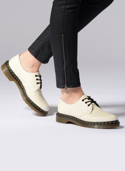 Snörade skor Dr. Martens 1461 F Vit bild från under