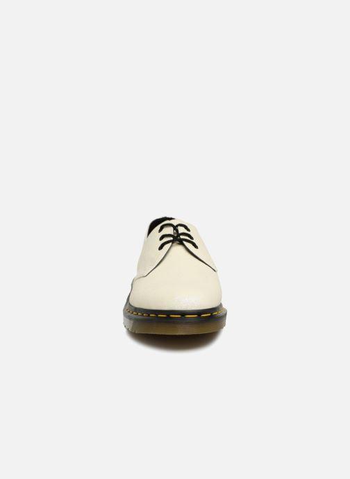 Snörade skor Dr. Martens 1461 F Vit bild av skorna på