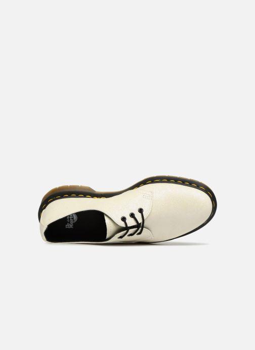 Snörade skor Dr. Martens 1461 F Vit bild från vänster sidan