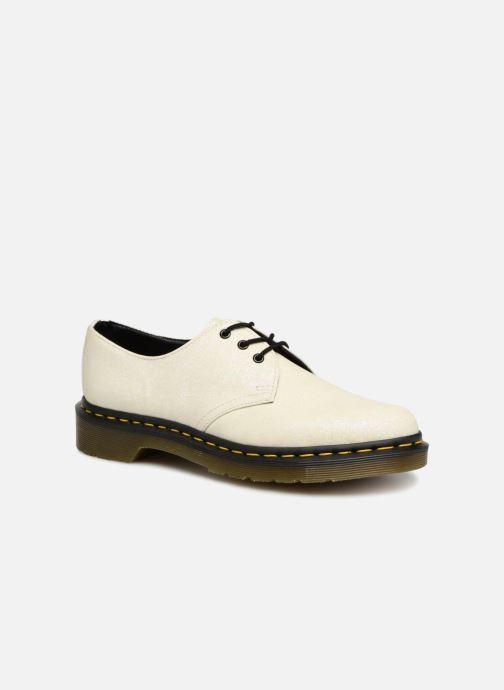 Snörade skor Dr. Martens 1461 F Vit detaljerad bild på paret