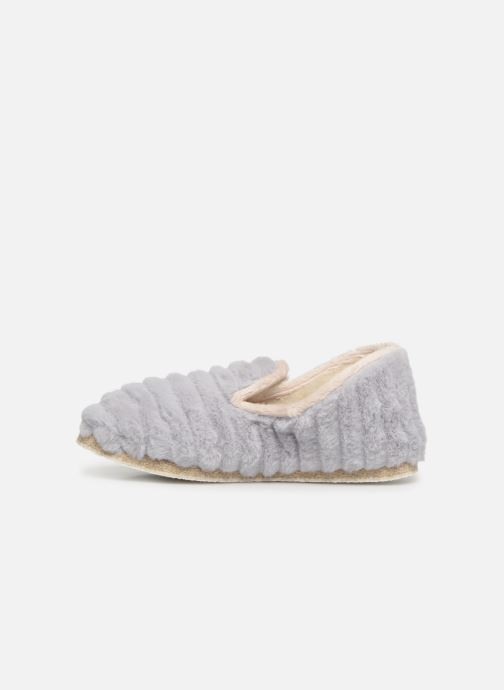 Chaussons Rondinaud Cardelle Gris vue face