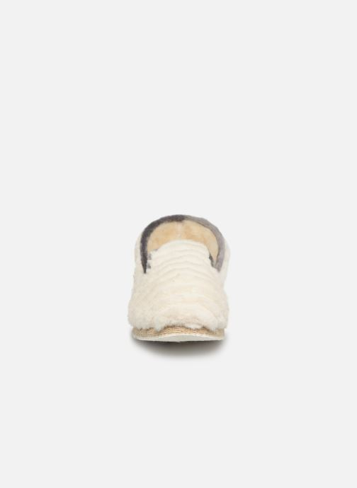 Chaussons Rondinaud Cardelle Beige vue portées chaussures