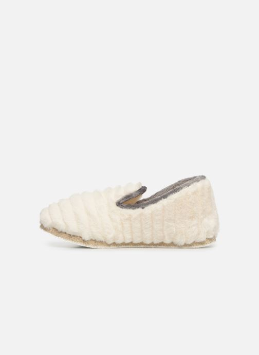 Chaussons Rondinaud Cardelle Beige vue face