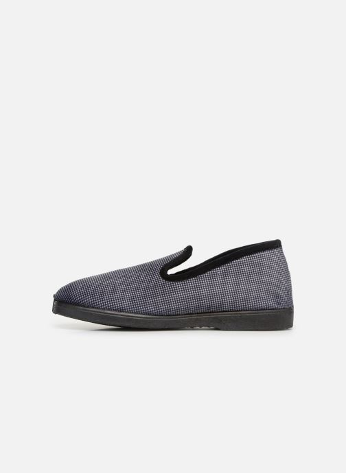 Slippers Rondinaud Castril Grey front view
