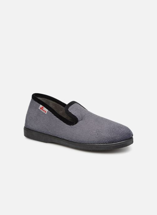 Slippers Rondinaud Castril Grey detailed view/ Pair view
