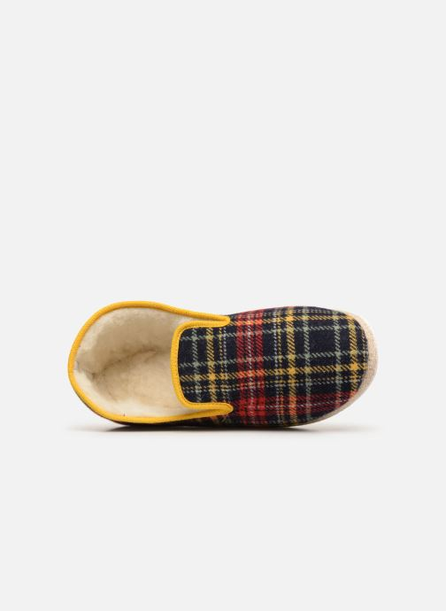 Slippers Rondinaud Curson Blue view from the left