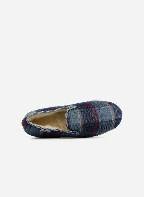Slippers Rondinaud Jeva 664-N Blue view from the left