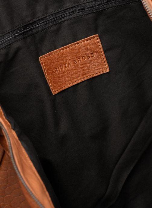 Handtassen Aridza Bross C1BIS Bruin achterkant