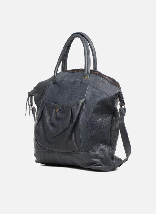 Handtaschen Aridza Bross C1BIS blau schuhe getragen