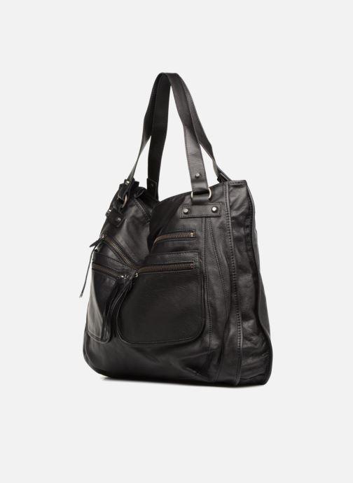 Handtaschen Aridza Bross 3351 schwarz schuhe getragen