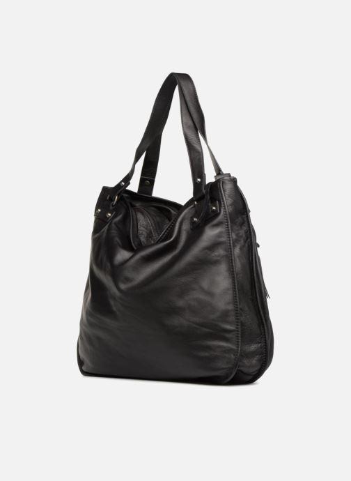 Handtaschen Aridza Bross 3351 schwarz ansicht von rechts