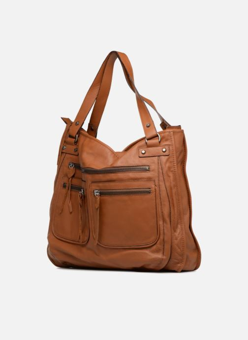 Handtaschen Aridza Bross 3351 braun schuhe getragen