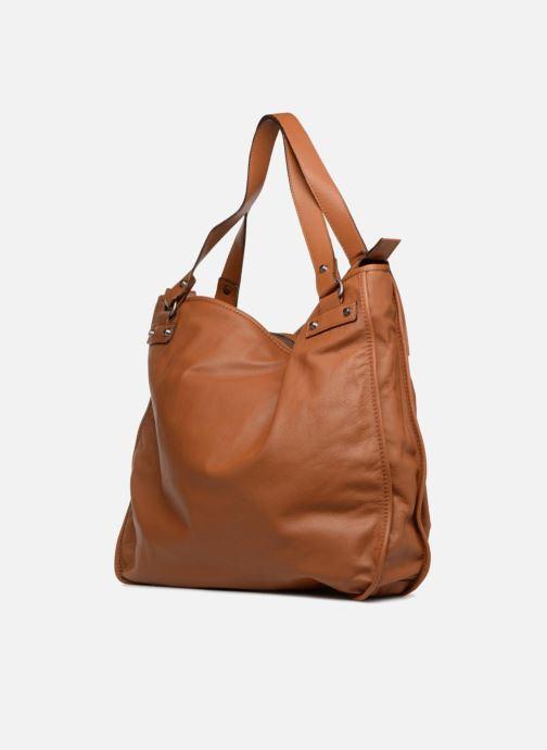 Handtaschen Aridza Bross 3351 braun ansicht von rechts