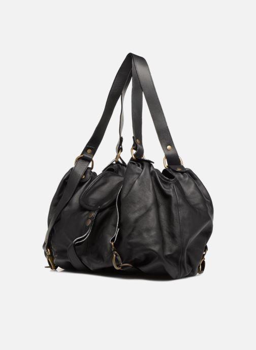 Handtaschen Aridza Bross 3359 schwarz schuhe getragen