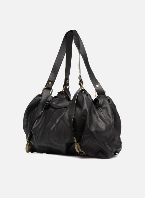 Handtaschen Aridza Bross 3359 schwarz ansicht von rechts