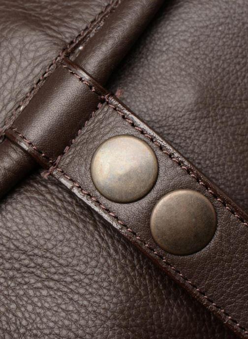 Bolsos de mano Aridza Bross 3359 Marrón vista lateral izquierda