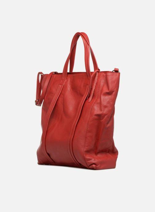 Handtaschen Aridza Bross 3696 rot schuhe getragen