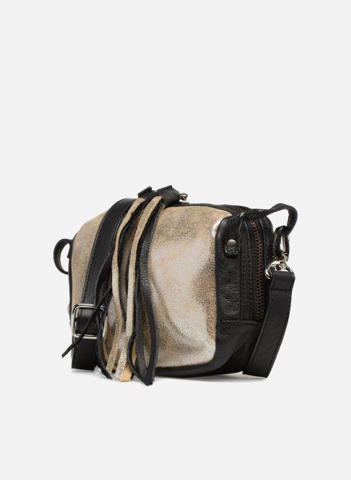 Handtaschen Aridza Bross 3810 silber schuhe getragen