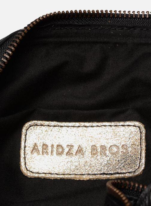 Bolsos de mano Aridza Bross 3810 Plateado vistra trasera