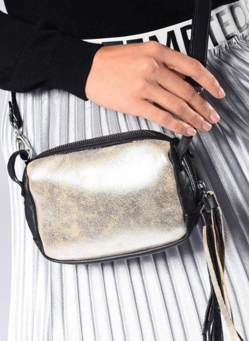 Bolsos de mano Aridza Bross 3810 Plateado vista de abajo