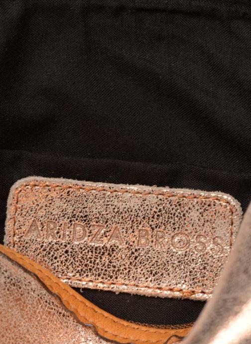 Bolsos de mano Aridza Bross 3810 Oro y bronce vistra trasera