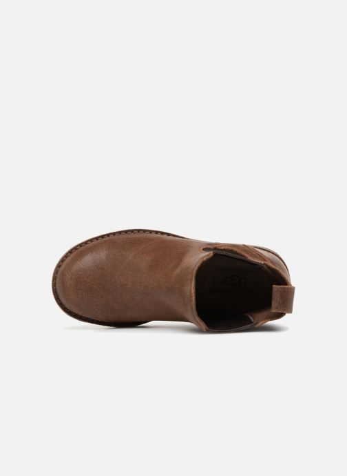 Ankle boots UGG Callum K Brown view from the left