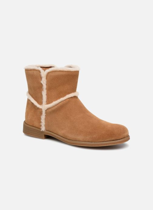 Ankle boots UGG Coletta K Brown detailed view/ Pair view