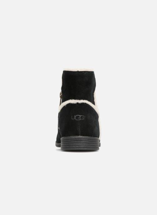 Bottines et boots UGG Coletta K Noir vue droite