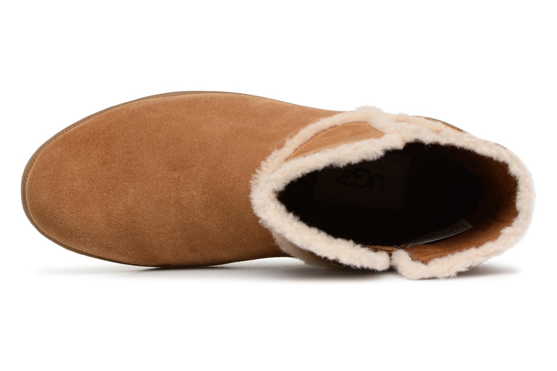 Bottines et boots UGG Coletta K Marron vue gauche