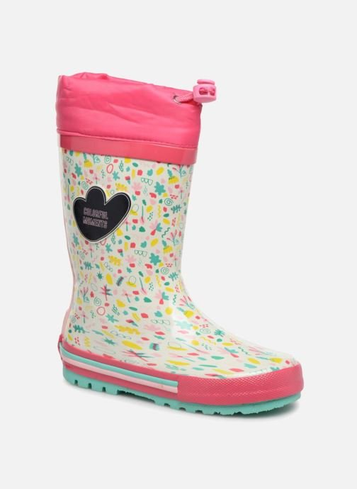 Boots & wellies Gioseppo 45804 White detailed view/ Pair view