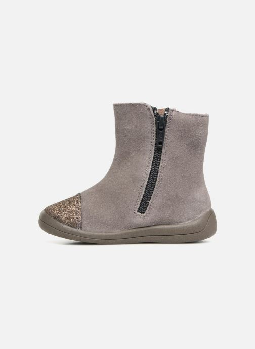 Ankle boots Gioseppo 46664 Grey front view