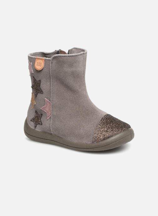 Ankle boots Gioseppo 46664 Grey detailed view/ Pair view
