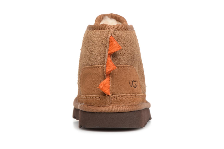 Bottines et boots UGG Dydo Neume II K Marron vue droite