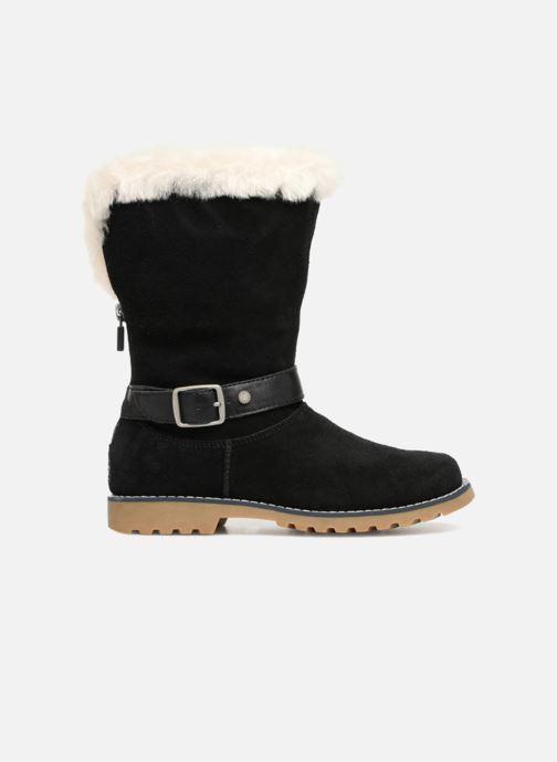 Stiefel UGG Nessa K schwarz ansicht von hinten