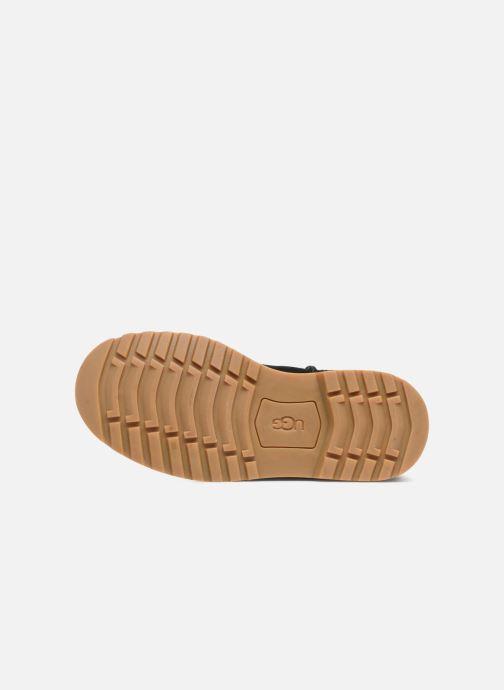 Stiefel UGG Nessa K schwarz ansicht von oben