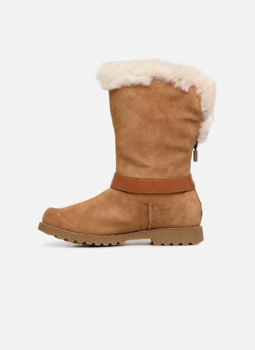 Stiefel UGG Nessa K braun ansicht von vorne