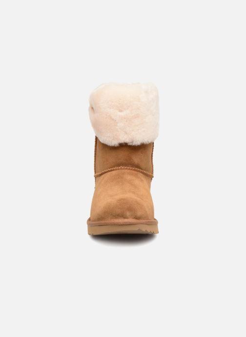 Stiefeletten & Boots UGG Ramona Classic Short II K braun schuhe getragen