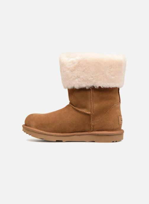Stiefeletten & Boots UGG Ramona Classic Short II K braun ansicht von vorne