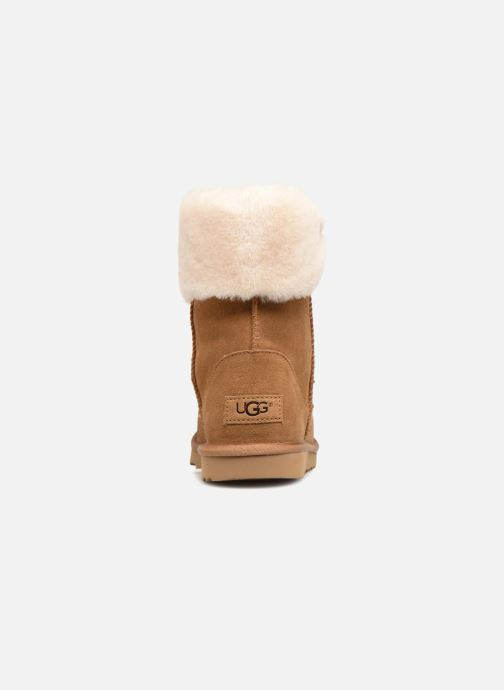 Stiefeletten & Boots UGG Ramona Classic Short II K braun ansicht von rechts