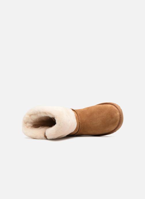 Stiefeletten & Boots UGG Ramona Classic Short II K braun ansicht von links