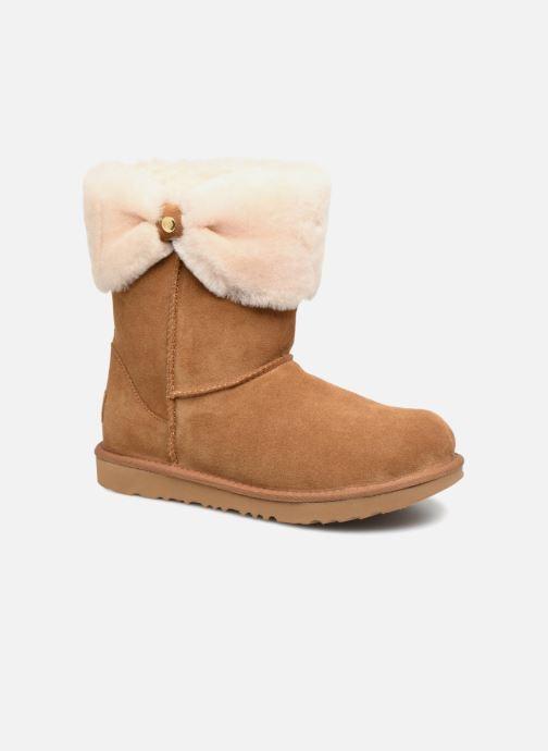 Bottines et boots UGG Ramona Classic Short II K Marron vue détail/paire