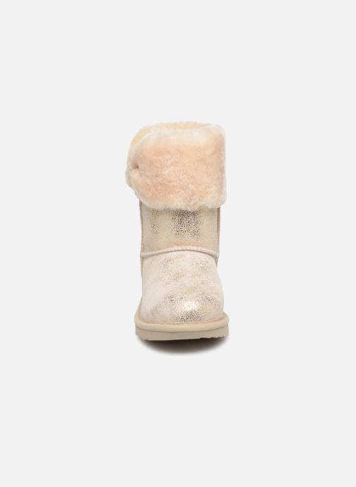 Bottines et boots UGG Ramona Classic Short II K Or et bronze vue portées chaussures