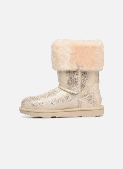 Bottines et boots UGG Ramona Classic Short II K Or et bronze vue face